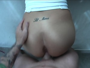 She loves being penetrated with big cock so much. She is presenting her new boyfriend with deep blowjob and getting drilled deep from behind.