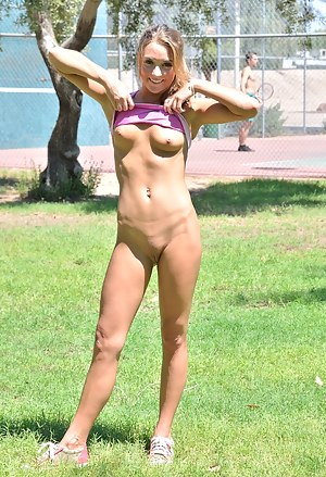 Mary bottomless at the park