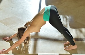 Carlie Stretching For Yoga