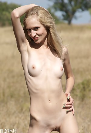 Amazing blonde cutie is always happy to enjoy you with her nice show off in front of the camera.
